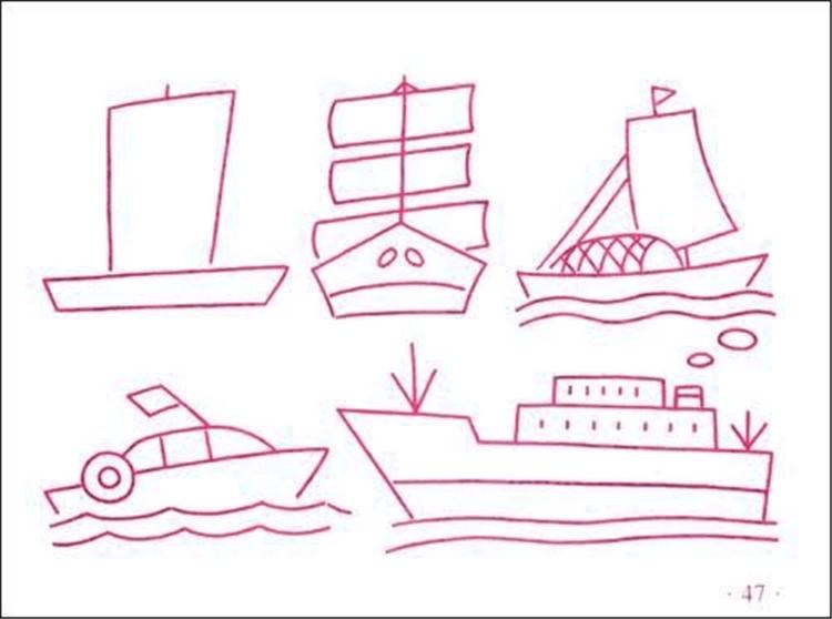 单本小小孩儿童简笔画大全 宝宝学画2-6岁童书简笔画 无.