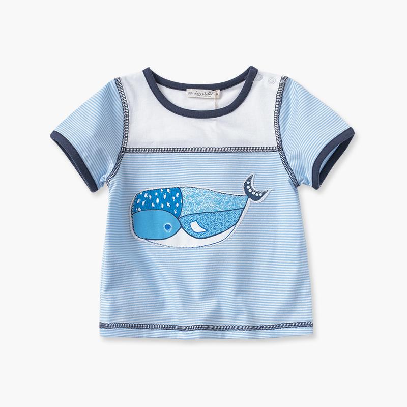手绘t恤鲸鱼