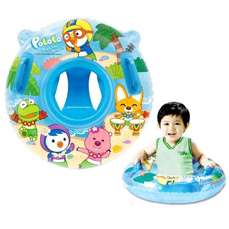 进口婴儿游泳圈 婴幼儿宝宝救生充气游泳圈儿童座 蓝
