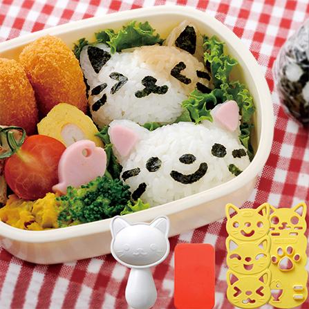 可爱猫咪饭团模具套装