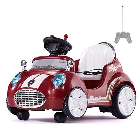 室内儿童电动车卡丁车 红