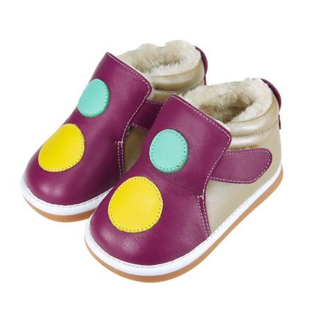 冬季保暖学步婴儿鞋m2405