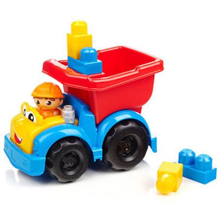 小型车拼搭积木系列自卸卡车狄伦cnd82