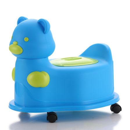 儿童马桶宝宝坐便器 宝蓝