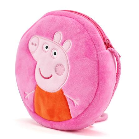 小猪背书包简笔画