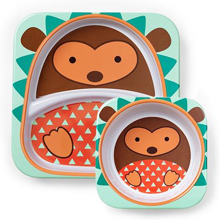 可爱动物园餐具组合餐盘餐碗套装