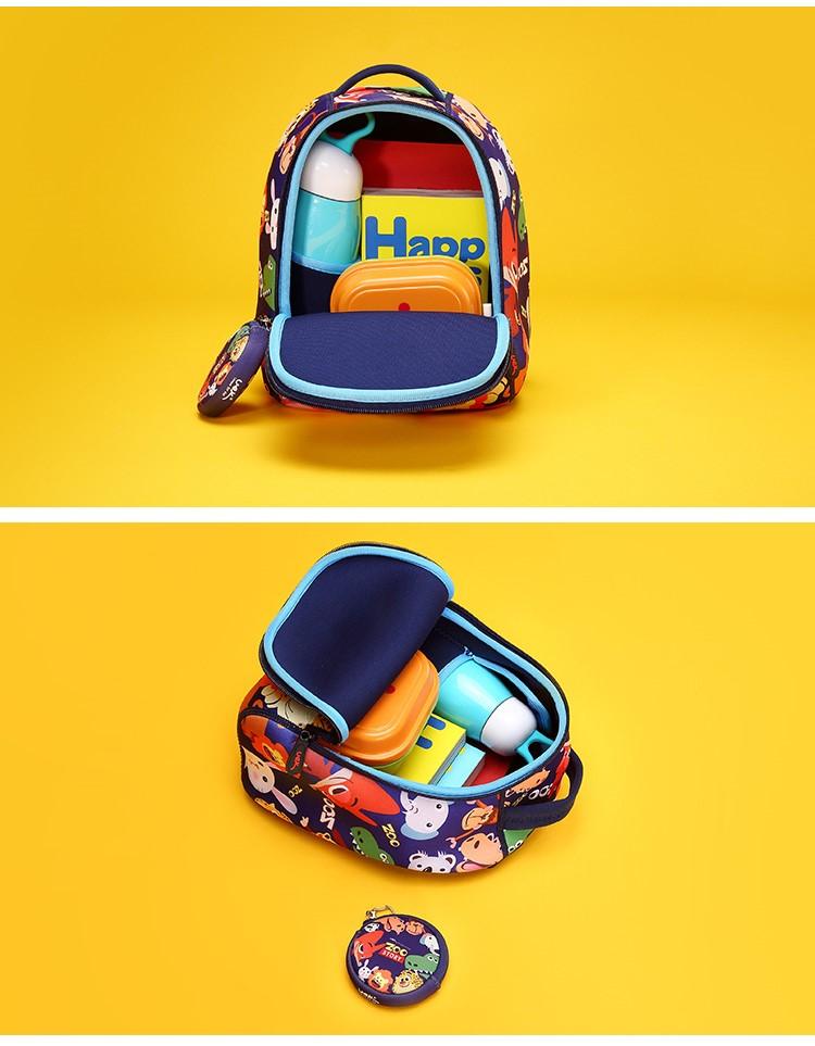 儿童可爱动物卡通男女双肩旅行背包 零钱包