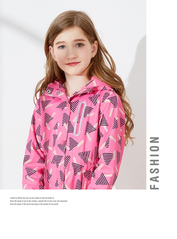 童装女童外套中大童夹克儿童秋装2017新款加绒加厚外衣