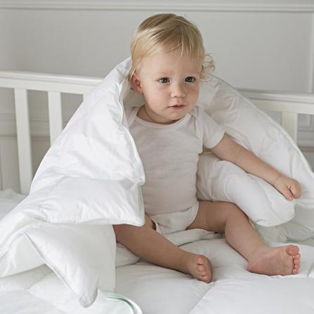 无甲醛抗敏襁褓婴儿被70*100 白